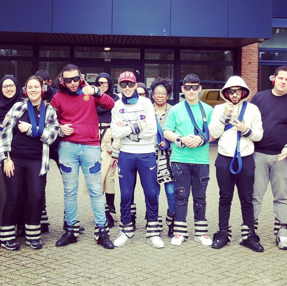 Studenten Zorg & Welzijn massaal naar Oudtopia