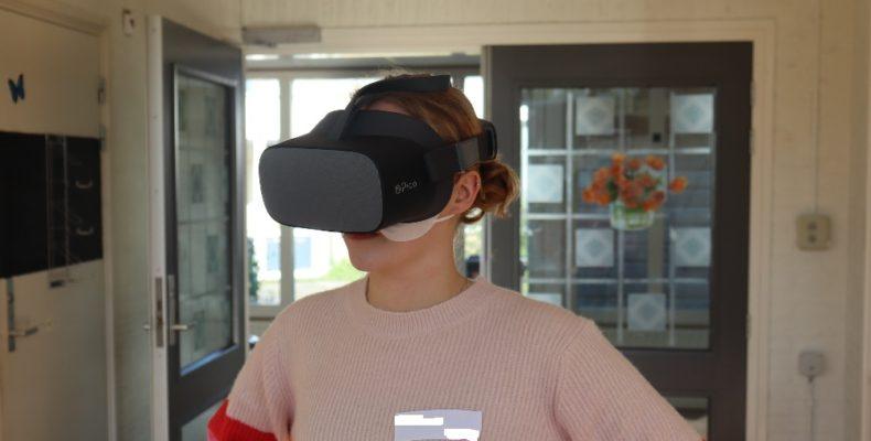 Coronatraining: Patyna gaat tweede coronagolf met VR te lijf