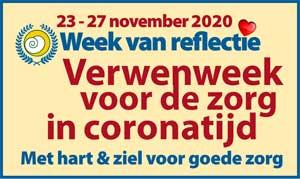 Week van reflectie 23-27 nov: dit jaar 'Verwenweek voor de zorg'