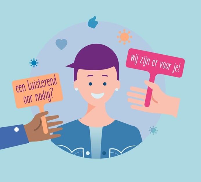 Mentale steun voor 200+ zorgprofessionals door 'Extra coaching voor de zorg'
